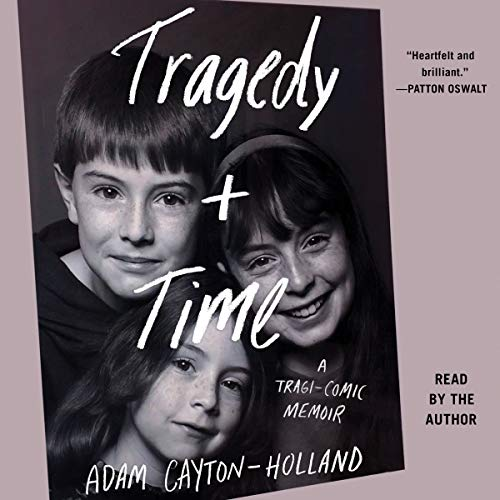 Tragedy Plus Time audiobook cover art
