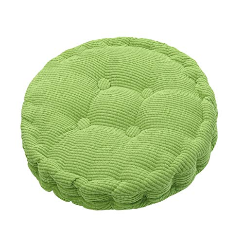 Outdoor Round Seat Cushions EPE Cotton Filled Boosted Cushion Indoor Chair Cushions for Home Office Kitchen (Diameter 17.72 inch)