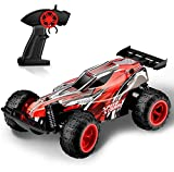 TOYEN RC Cars, Off Road Truck Electric Racing Remote Control Car 2.4Ghz 2WD High Speed Radio Control Cars Indoor/Outdoor Hobby Toy