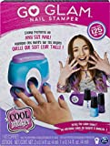 Cool MAKER 6046941 Stamper, Studio with 5 Patterns to Decorate Nails Go Glam Nagelstempel, Nagelstudio mit 5 Mustern zum Dekorieren von 125 Nägeln, grau