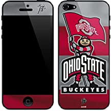 Skinit Decal Phone Skin for iPhone 5/5s/SE - Officially Licensed Ohio State University OSU Ohio State Buckeyes Flag Design