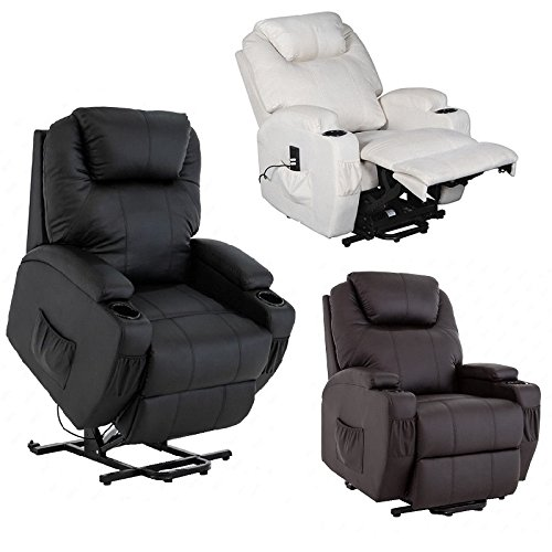 Cavendish dual motor electric riser and recliner chair - choice of colours rise and recline (Black)