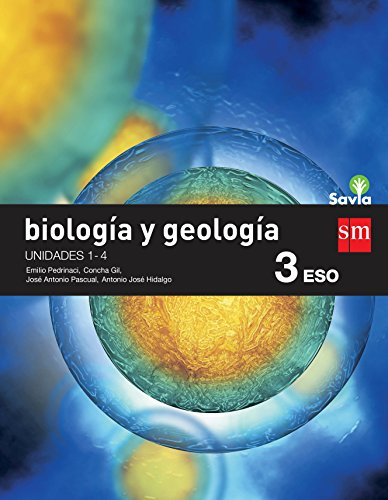 Biología y geología. 3 ESO. Savia. Trimestres - Pack de 3 libros - 9788467583403