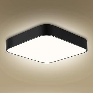 Plafonnier LED 36W, bedee 3060lumen 4000K blanc naturel, 220V 24LEDs, plafonnier led plafond moderne luminaire pour salle ...