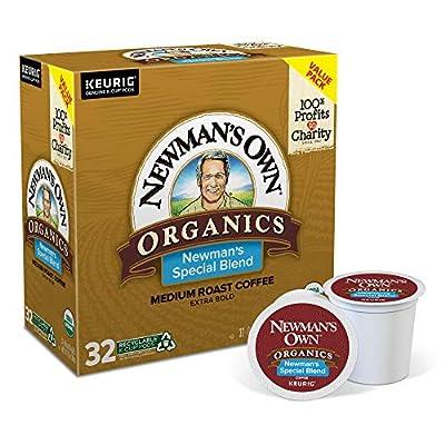 Newman's Own Organics, Single-Serve Keurig K-Cup Pods, Medium Roast Coffee,