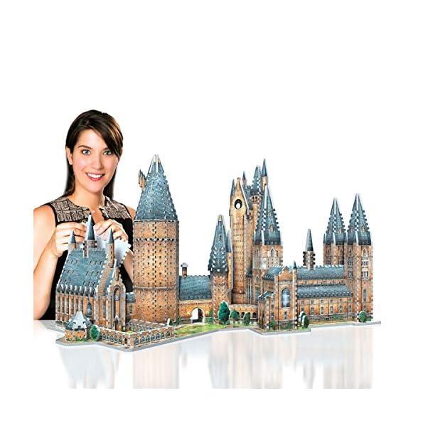Wrebbit-Hogwarts-Great-Hall-3D-Puzzle–850-Pezzi