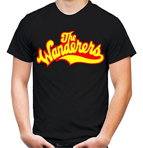 The Wanderers Männer und Herren T-Shirt | Spruch Rockabilly Kult Geschenk | M1 (XL, Schwarz)