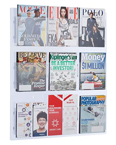 Our #7 Pick is the AdirOffice Hanging Magazine Rack