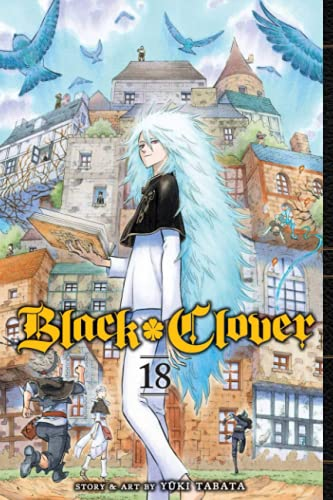 """Composition Notebook: Black Clover Vol.18 Anime Journal/Notebook, College Ruled 6"""" x 9"""" inches, 120 Pages"""