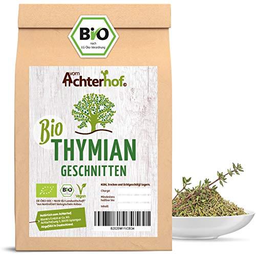 Bio Thymian getrocknet und gerebelt (250g) Bio-Thymian-Tee als Gewürz oder als Tee zu verwenden vom-Achterhof