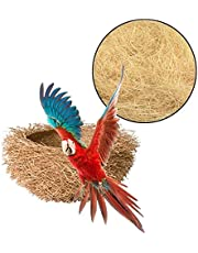 Jute Nesting Material 30g Nest/Fibre Aviary Birds Canaries Finches Nest Filled Grass Bird Cage Accessories Decoration