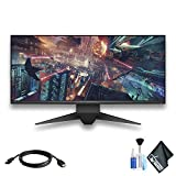 Dell Alienware AW3418DW 34' 21:9 Curved 120 Hz G-Sync IPS Gaming Monitor with HDMI Cable