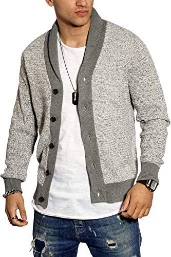 SELECTED HOMME Herren Strickjacke Herrenjacke Cardigan Pullover Meliert (XL, Colour 1)