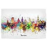 artboxONE Poster 120x80 cm Städte Hannover Skyline
