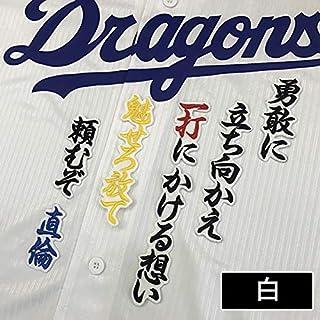 中日ドラゴンズ 刺繍ワッペン 堂上 応援歌 堂上直倫
