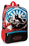 Mochila preescolar Star Wars The Last Jedi 38cm adaptable a carro