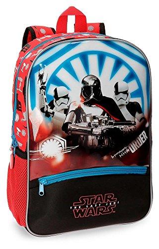Mochila preescolar Star Wars The Last Jedi 38cm adaptable a carro