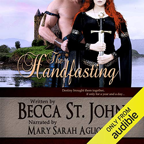 The Handfasting audiobook cover art