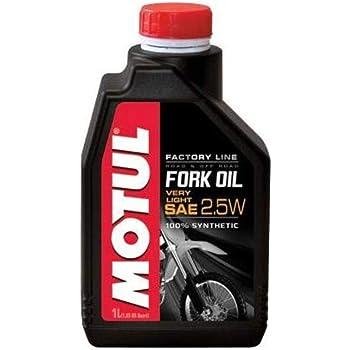 MOTUL Fork Oil Factory Line Very Light 2.5W 1L: Amazon.es: Coche y ...