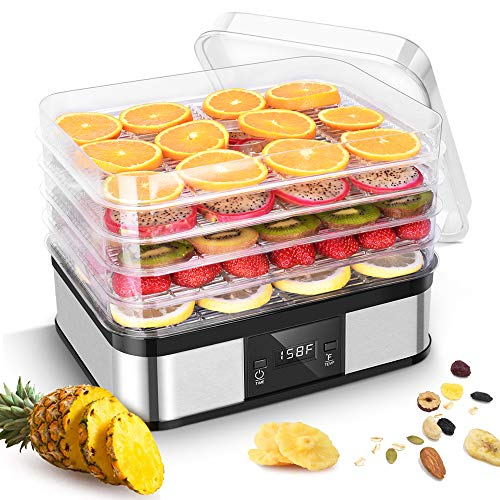 Best Buy! Food Dehydrator Machine–Trustech Electrical Dehydrator ETL FDA Certificated with Digital...