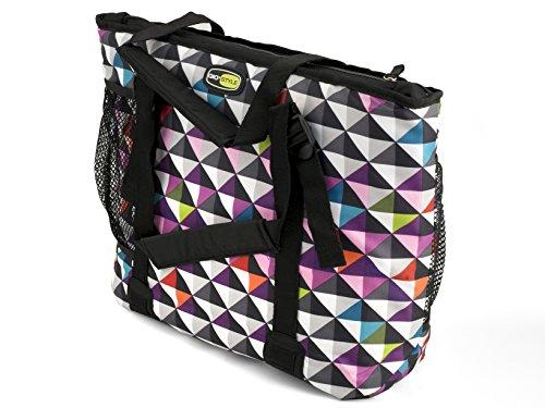 Gio Style Boxy 23 Kühltasche in bunt/karo-pixel
