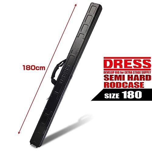 ドレス(DRESS) ロッドケース セミハードロッドケース 180 180ブラック