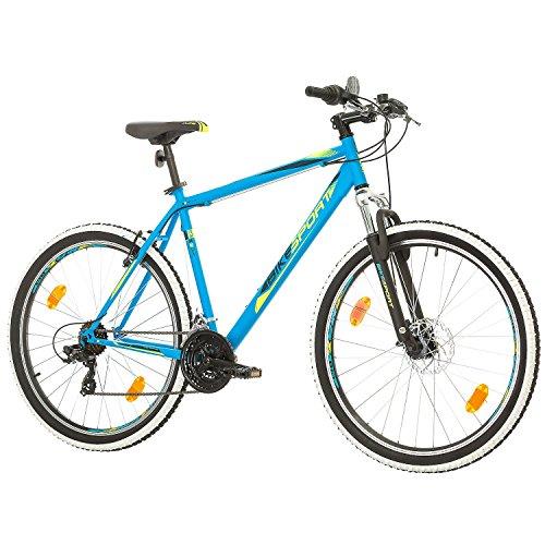 BIKE SPORT LIVE ACTIVE 27,5 Zoll Bikesport Thunder Herren Fahrrad MTB Mountainbike Hardtail Shimano 21 Gang (Blau matt, XL) - 3