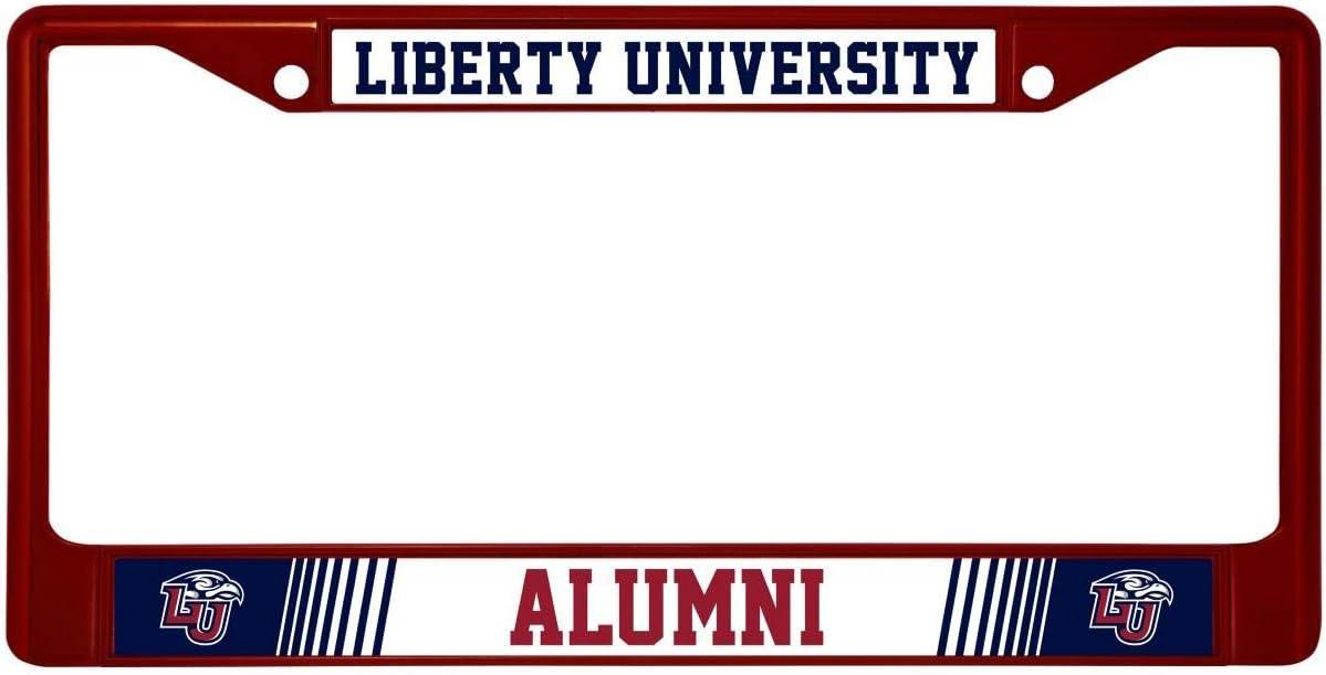Rico Liberty University Flames Alumni Metal Super Special SALE held Plate shipfree Frame License