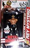 Mattel WWE Basic PPV Series Build a Entreview Set Rey Mysterio Wrestling Figure
