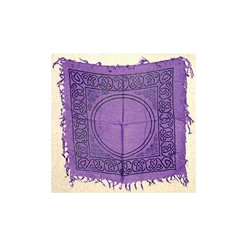 Celtic altar or tarot cloth