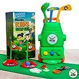 (Lab Tested) - Premium Kids Golf Clubs 3-5 - Kids Golf Set - Toy Golf Set - Toddler Golf Set - Golf Toys for Kids - Mini Golf Set - Baby Toddler Golf Clubs - Plastic Play Golf Clubs - Age 2 3 4 5 6