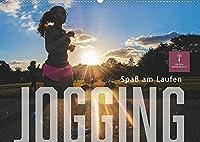 Jogging - Spass am Laufen (Wandkalender 2022 DIN A2 quer): Joggen: Gesundheit, Natur geniessen und Spass haben. (Monatskalender, 14 Seiten )