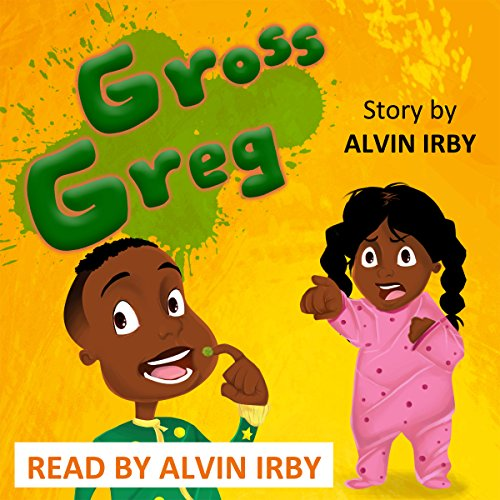 Gross Greg audiobook cover art