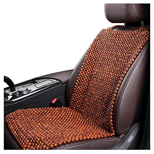 Seggiolini auto Cuscino del sedile dell'automobile Cuscino del tallone in legno Cuscino universale traspirante e dissipabile al calore Antiscivolo antipolvere Adatto for la maggior parte dei modelli