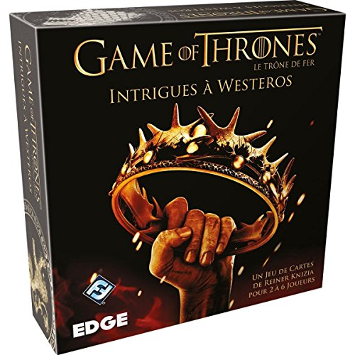 Game of Thrones : Intrigues à Westeros - Asmodee - Jeu de société - Jeu de cartes