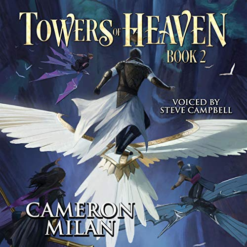 Towers of Heaven (A LitRPG Adventure) Titelbild