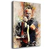 Bruce Springsteen Aquarell Kunst Dekorative Malerei Poster