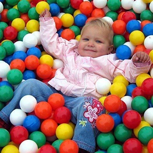 Euromatic EURO-MATIC Spielbälle 500 Stück 75mm - 7,5 cm Bälle für Kinder Bällebad Babybälle Plastikbälle ohne gefähliche Weichmacher -TÜV zertifiziert