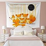 Miwaimao Tapices colgantes de tela para decoración del hogar, diseño de plantas tropicales, 17,150 x 150 cm