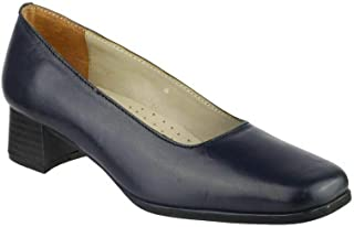 Amblers Walford Ladies Leather Court/Womens Shoes/Court Ladies Shoes