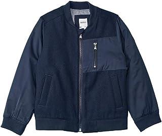 Hugo Boss Boys Wool Blazer Blue 9A