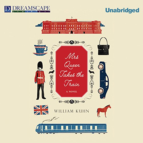 Mrs Queen Takes the Train audiobook cover art