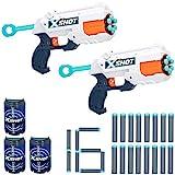 X-Shot - Pack 2 pistolas Reflex 6 X-Shot Excel + 3 botes (44770)