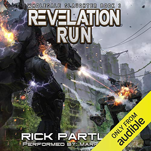 Revelation Run audiobook cover art