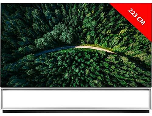 LG OLED88Z9 8k UHD 223 cm OLED TV 4K 88 Zoll TV Smart TV Smart TV Netflix Terrestrisch/Satellite PVR Recorder (über USB) Kopfhöreranschluss 80 Watt Sound