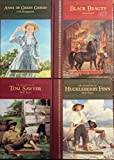 The Great Classics for Children (The Adventures of Tom Sawyer; The Adventures of Huckleberry Finn; Black Beauty, Three Volume Set in Case)