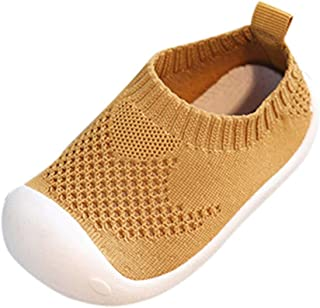 434c62c276fee Bluestercool Casual Shoes Enfants Bébé Filles Garçons Confortable Respirant Chaussures  de Course Fashion Slip-on