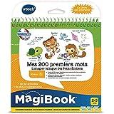 VTech - Livre MagiBook - Mes 2 premiers mots Français/Anglais - apprendre l'anglais - livre bilingue, livre éducatif - Version FR