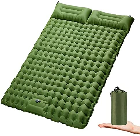 Top 10 Best double sleeping pad Reviews