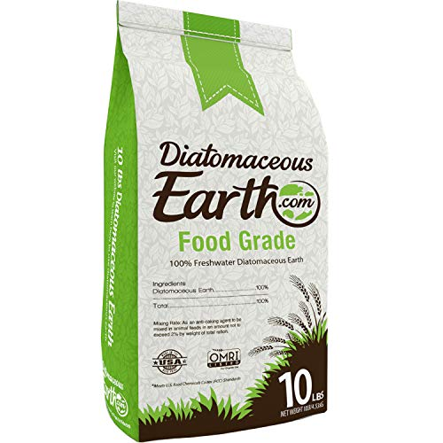 DiatomaceousEarth DE10, 100% Organic Food Grade Diamateous Earth Powder - Safe For...